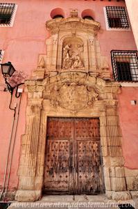 Cuenca, Portada de la Iglesia del Seminario Conciliar de San Julián