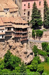 Cuenca, Casas Colgadas fotografiadas desde el Cerro del Socorro