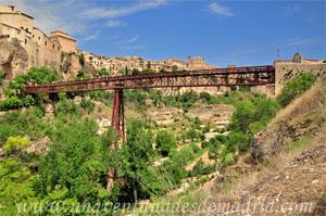 Cuenca, Cara Sur del Puente de San Pablo