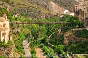 Cuenca, Cara Norte del Puente de San Pablo