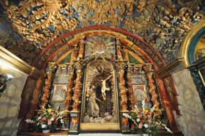 Cueva de Santo Domingo, Altar