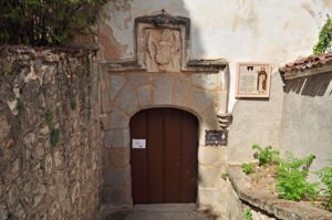 Cueva de Santo Domingo, Puerta de entrada al Jardín