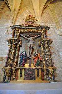 Cueva de Santo Domingo, Retablo de la Capilla de los Reyes Católicos
