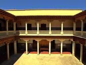 Convento de la Piedad, patio del Palacio de Antonio de Mendoza