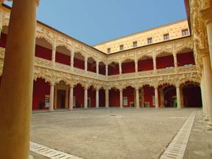 Palacio del Infantado, Patio de los Leones