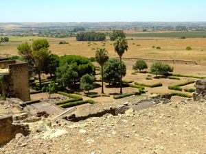 Medina Azahara, Jardín Bajo