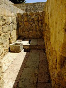 Medina Azahara, Letrina