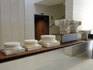 Medina Azahara, Museo de Medina Azahara, basas y capiteles