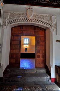 Monasterio de San Antonio el Real, Arcosolio de la Reina