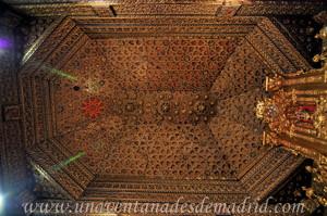 Monasterio de San Antonio el Real, Artesonado de la Capilla Mayor