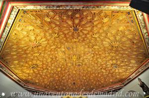 Monasterio de San Antonio el Real, Artesonado de la Sala Capitular