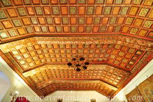 Monasterio de San Antonio el Real, Artesonado de la Sala de Frailes