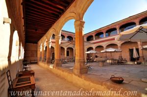 Monasterio de San Antonio el Real, Claustro de la Vicaría