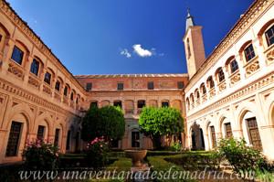 Monasterio de San Antonio el Real, Claustro
