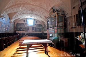 Monasterio de San Antonio el Real, Coro bajo