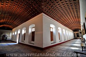 Monasterio de San Antonio el Real, Pandas (galerías) Sur y Este