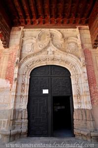 Monasterio de San Antonio el Real, Portada de la Iglesia