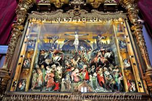 Monasterio de San Antonio el Real, Retablo de la Pasión