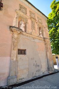 Monasterio de San Antonio el Real, Portada barroca de la Vivienda del Capellán