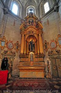 Catedral de Segovia, Altar de San Frutos