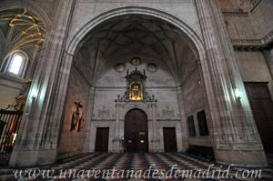Catedral de Segovia, Arco de capilla de ingreso a la del Santísimo Sacramento