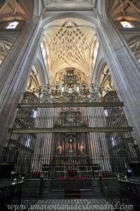 Catedral de Segovia, Capilla Mayor