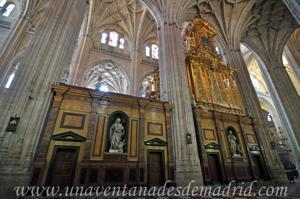 Catedral de Segovia, Costado del Coro por el lado de la Epístola