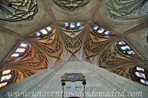 Catedral de Segovia, Bóveda de la Girola