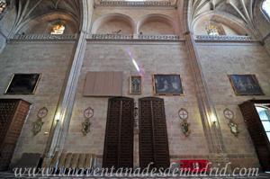 Catedral de Segovia, Interior de la fachada principal