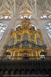 Catedral de Segovia, Órgano del lado del Evangelio