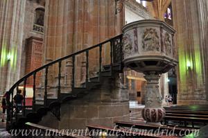 Catedral de Segovia, Púlpito del antiguo Convento Franciscano que había en Cuéllar