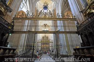 Catedral de Segovia, Reja del Coro y Vía Sacra