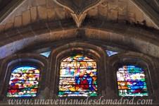 Catedral de Segovia, Tercera vidriera de la Girola