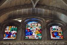 Catedral de Segovia, Segunda vidriera de la Girola
