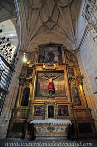 Catedral de Segovia, Capilla del Cristo del Consuelo