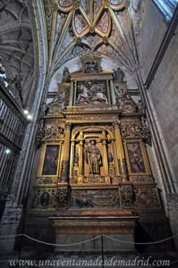 Catedral de Segovia, Capilla de Santiago