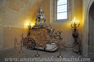 Catedral de Segovia, Carro triunfal y custodia de plata