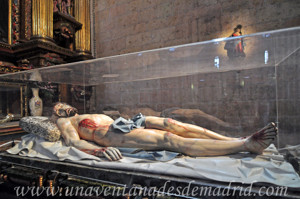 Catedral de Segovia, Cristo yacente de la Capilla del Descendimiento