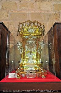 Catedral de Segovia, Expositor para el Santísimo del siglo XVIII
