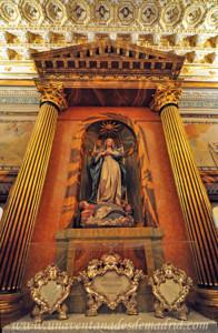 Catedral de Segovia, Imagen de la Concepción