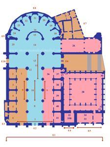 Plano de la Catedral de Segovia
