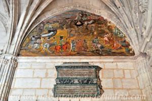Catedral de Segovia, Urna con las cenizas de Marisaltos