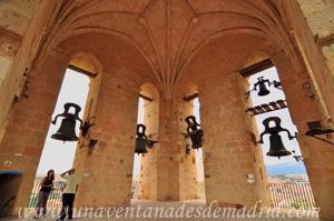 Torre de la Catedral de Segovia, Campanario