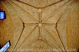 Torre de la Catedral de Segovia, Bóveda de crucería de la Sala Audiovisual