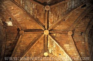 Torre de la Catedral de Segovia, Bóveda de la Sala del Reloj