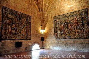 Torre de la Catedral de Segovia, Tapices de la Sala del Reloj