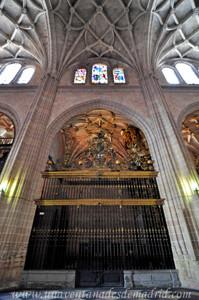 Catedral de Segovia, Capilla de San Gregorio