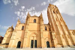 Catedral de Segovia, Fachada principal