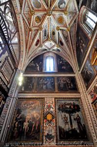 Catedral de Segovia, Pinturas de Ignacio de Ríes