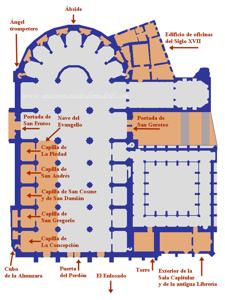 Plano de la Catedral de Segovia (I)
